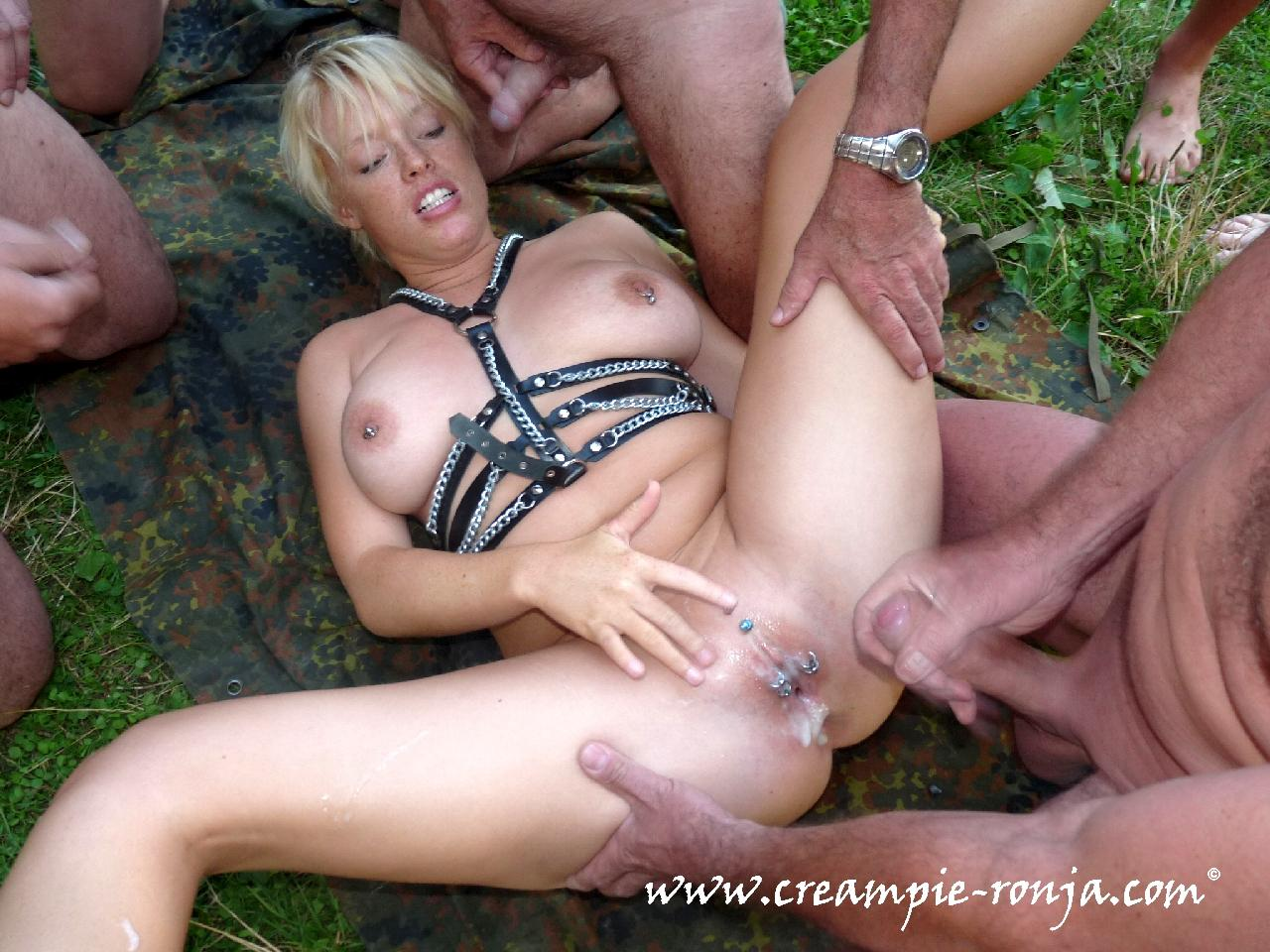 Much did gang bang creampie love his